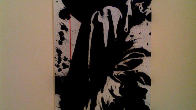 Her, a stencil work by Emanuele Renton Fortunati