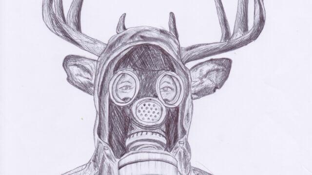 Pollution, , an artwork by Emanuele Renton Fortunati